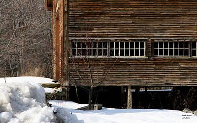 Photograph - York Barn by Mark Alesse