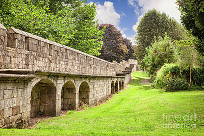 York City Walls, England Art Print by Colin and Linda McKie