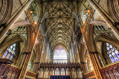 Photograph - York Minster Cathedral by David Pyatt