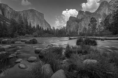 Photograph - Yosemite Evening by Tim Bryan