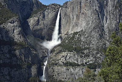 Photograph - Yosemite Falls From The Four Mile Trail by Harvey Barrison