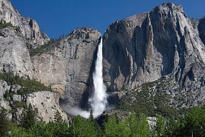 Yosemite Falls Art Print by Jim Riel
