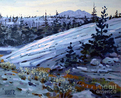 Painting - Yosemite High Country by Donald Maier