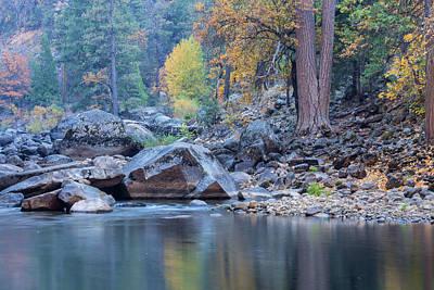 Photograph - Yosemite In Autumn  by Jonathan Nguyen