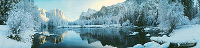 Thawing Photograph - Yosemite National Park Ca Usa by Panoramic Images