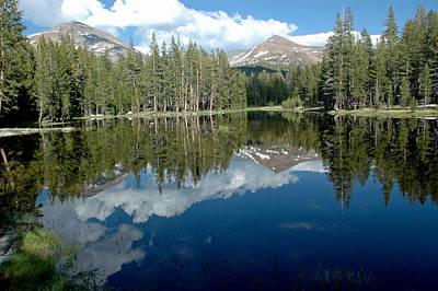 Bike Photograph - Yosemite Reflections A by LeeAnn McLaneGoetz McLaneGoetzStudioLLCcom