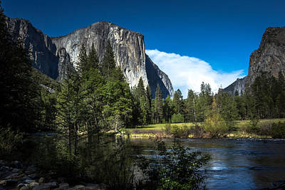 Print featuring the photograph Yosemite by Ryan Photography