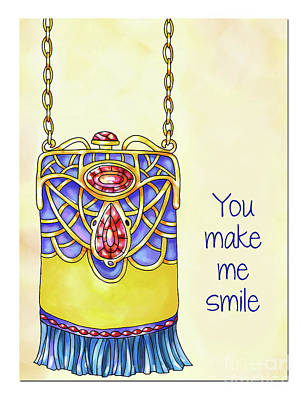 Vale Mixed Media - You Make Me Smile by Pam Vale