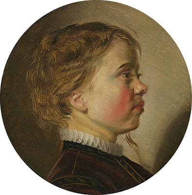 Painting - Young Boy In Profile by Judith Leyster