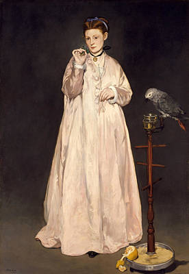 Painting - Young Lady In 1866 by Edouard Manet