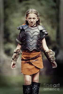 Warrior Women Photograph - Young Warrior by Amanda Elwell