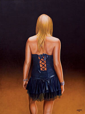 Dresses Painting - Youth And Beauty by Horacio Cardozo