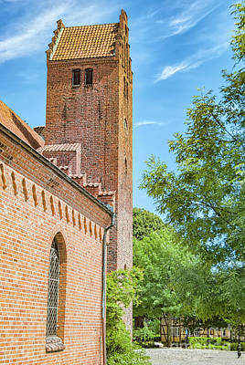 Photograph - Ystad Monastery In Sweden by Antony McAulay