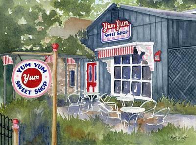 Treat Painting - Yum Yum by Marsha Elliott