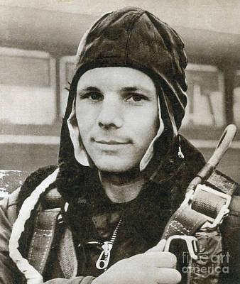 Yuri Gagarin Photograph - Yuri Gagarin, Soviet Cosmonaut by Science Source