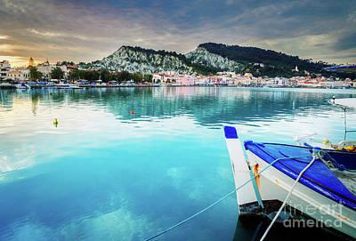 Photograph - Zaante Town, Zakinthos Greece by Anastasy Yarmolovich
