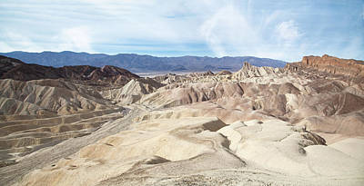 Photograph - Zabriskie Point Landscape by Marius Sipa