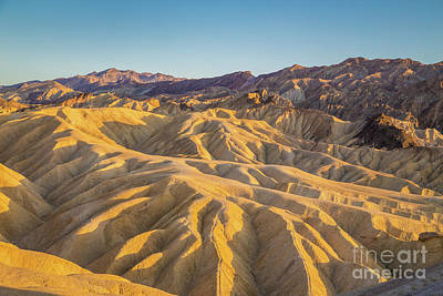 Photograph - Zabriskie Point Sunset by JR Photography