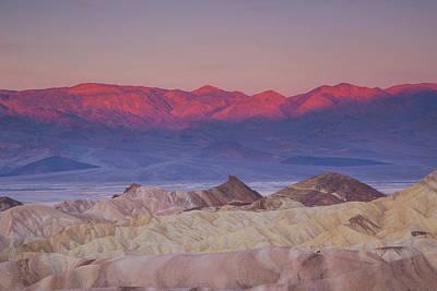Photograph - Zabriskie Sunrise by Kunal Mehra