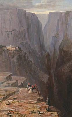 Painting - Zagori, Greece by Edward Lear