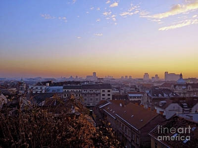 Photograph - Zagreb Panorama by Jasna Dragun