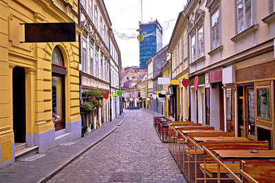 Photograph - Zagreb Radiceva Street Advent View by Brch Photography
