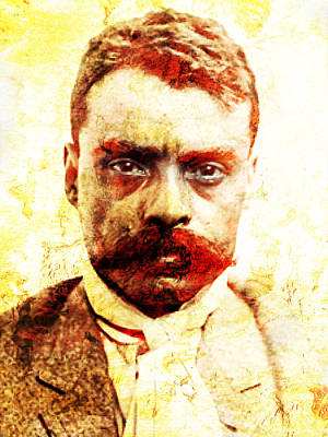 Zapata Art Print by J- J- Espinoza