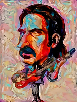 Painting - Zappa by Paul Van Scott