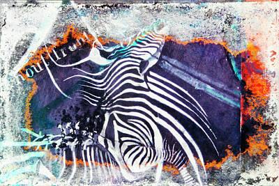 Zebra Painting - Zebra by Leon Bonaventura and Filiberto Bonaventura