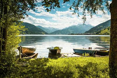 Photograph - Zeller See, Prielau, Salzburg, Austria by Alex Saunders
