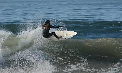 Photograph - Zen Of Surfing by Fraida Gutovich
