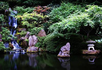 Koi Digital Art - Zen Pond by Anthony Jones