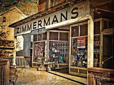 Zimmermans Art Print by Kathy Jennings