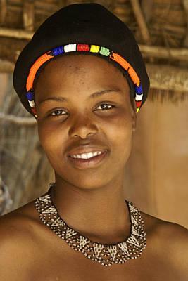 Photograph - Zulu Maiden by Michele Burgess