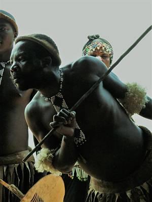 Photograph - Zulu Warrior by Vijay Sharon Govender