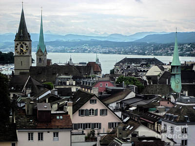 Photograph - Zurich Switzerland by Gregory Dyer