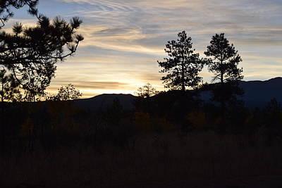 Sunrise Back Country Co Art Print