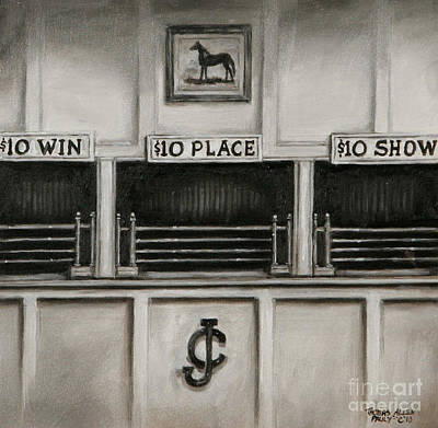 10 Across The Board Art Print by Thomas Allen Pauly