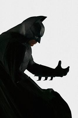 Batman Digital Art - Arkham Batman Poster by Egor Vysockiy