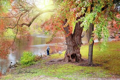 Digital Art - Autumn by Jill Wellington