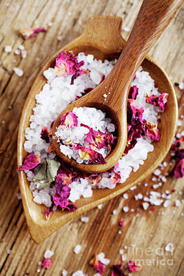 Photograph - Bath Salt by Kati Finell