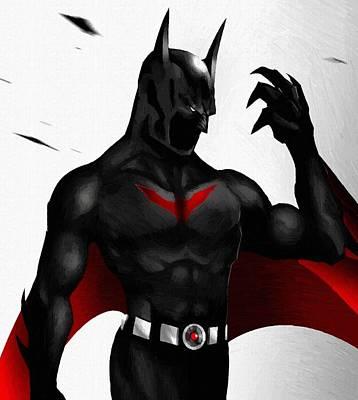Batman Digital Art - Batman 2 Poster by Egor Vysockiy