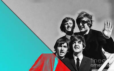 Beatles Collection Art Print