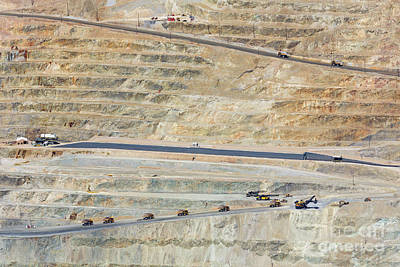 Photograph - Bingham Canyon Copper Mine by Jim West