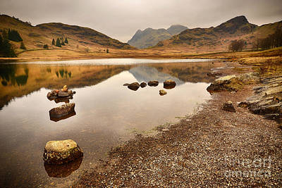 Langdale Photograph - Blea Tarn by Nichola Denny