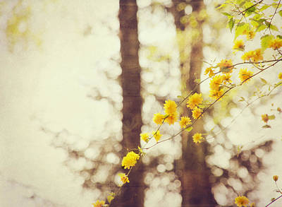 Yellow Digital Art - Blossom by Super Lovely