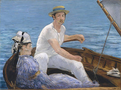 Painting - Boating by Edouard Manet