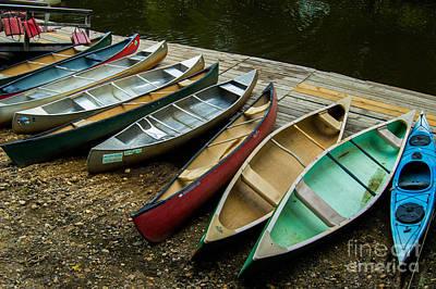 10 Boats Art Print by Sabrina Ramina