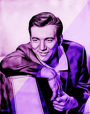 Bobby Darin Collection Art Print
