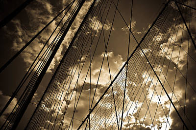 Brooklyn Bridge Art Print by Patrick  Flynn